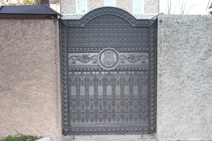 Литые ворота