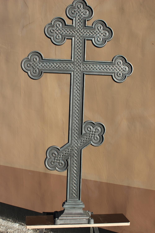 Ритуальные изделия из чугуна. Крест