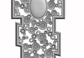 Чугунный крест на могилу