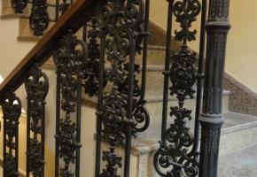 Лестницы из чугуна. Фрагмент