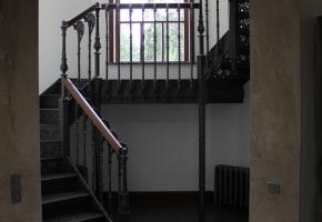 Лестница из чугуна. Готовый проект