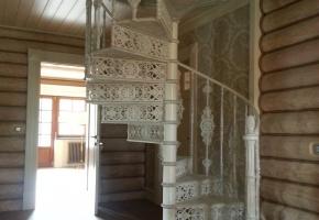 Винтовая лестницы из чугуна