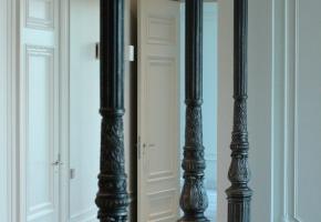 Литые столбы из чугуна